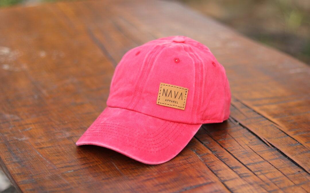 Camper Cap – Coral Red