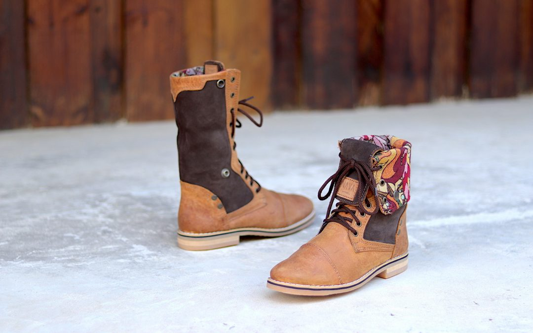 Men's Warrior Boots 'Tsonga' Diesel Toffee Leather